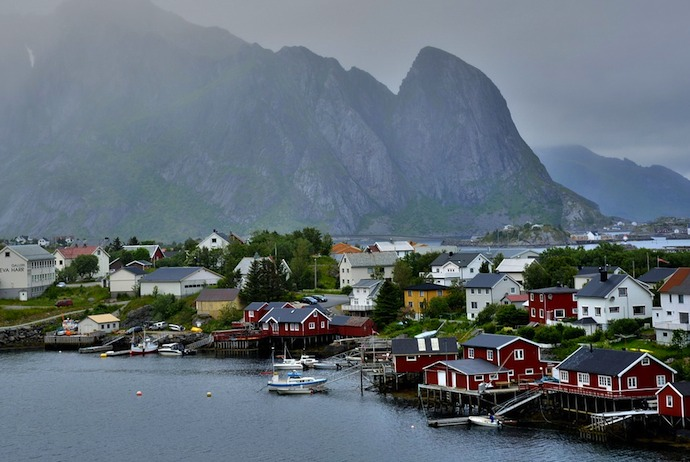 Island-hopping in the Lofoten, Norway