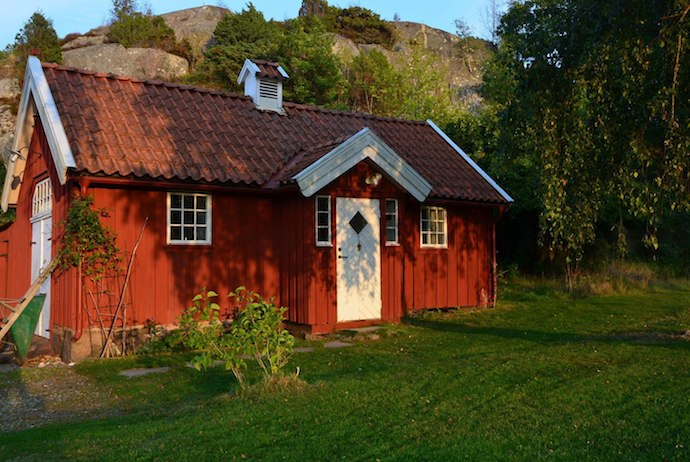 This pretty cabin offers a nice escape from the bustle of central Gothenburg