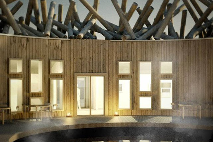 The Arctic Bath hotel in Sweden Lapland