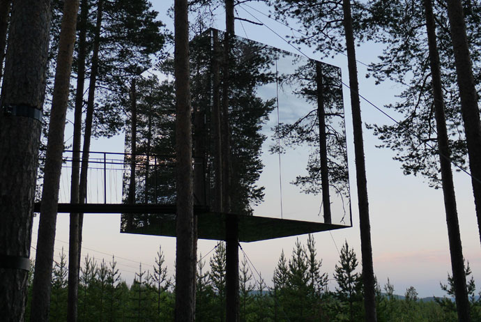 The Treehotel in Swedish Lapland