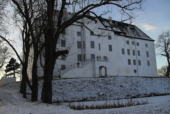 You can spend the night at Dragsholm Castle in Denmark