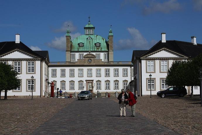 Fredensborg castle, Denmark