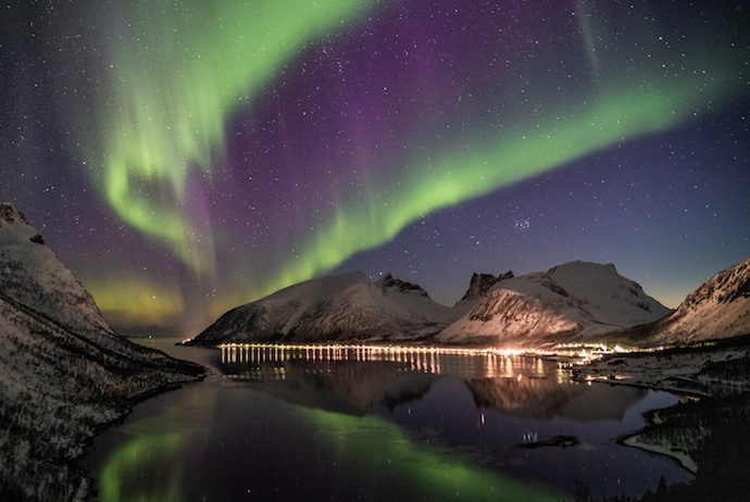 Seeing the northern lights is one of the highlights of a trip to Scandinavia