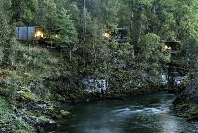 Juvet Landscape hotel, eco-friendly paces to stay in Norway