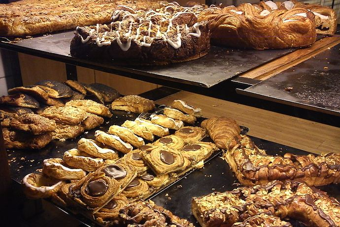 Denmark is famous for the danish pastry