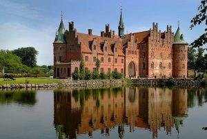 Egeskov is one of the best castles in Denmark