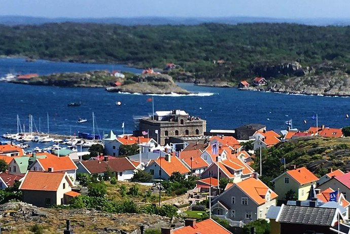 Marstrand, Sweden's west coast