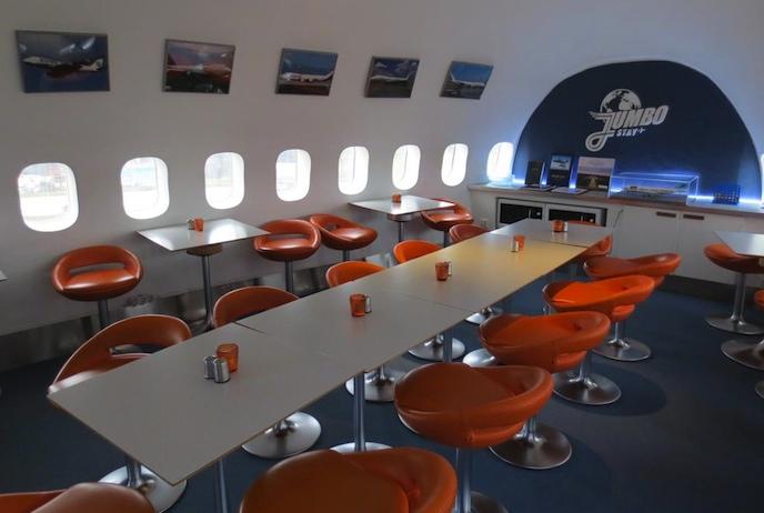 JumboStay hostel at Arlanda airport, Stockholm