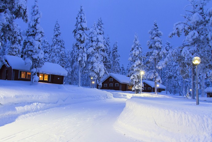 Finland is a great winter destination with lots of guided tours on offer