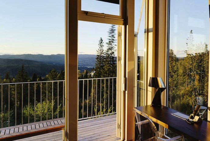 Lysebul is a green hotel in Norway