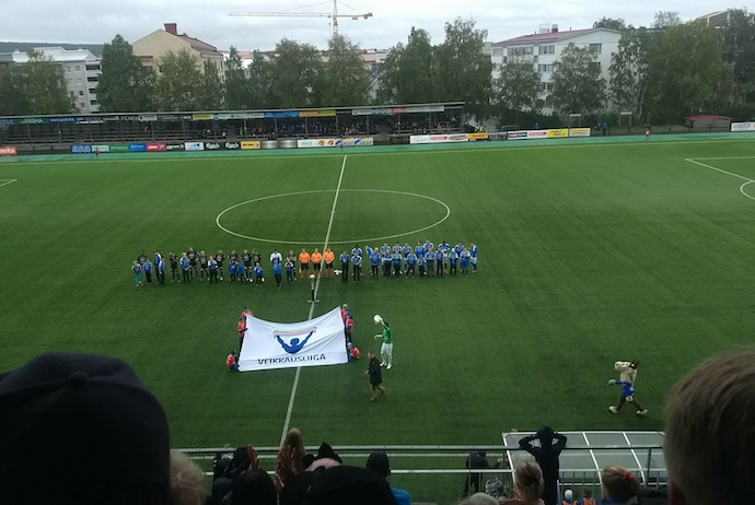 Football can be a great ice-breaker when travelling solo in Scandinavia