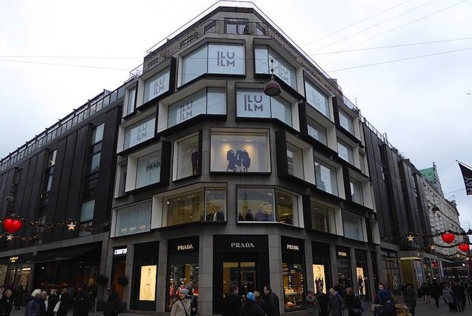 Ilum department store, Copenhagen, Denmark