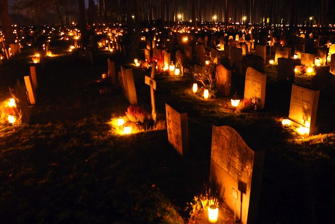 All Saints Day is a big tradition in Sweden