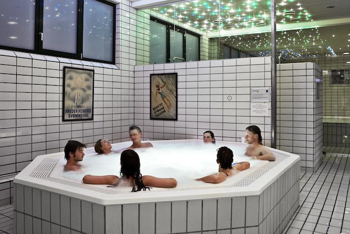 Do as the Danes do and stay warm this winter in a cosy communal hot tub.