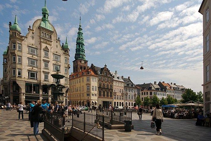 Strøget, Copenhagen's main shopping area