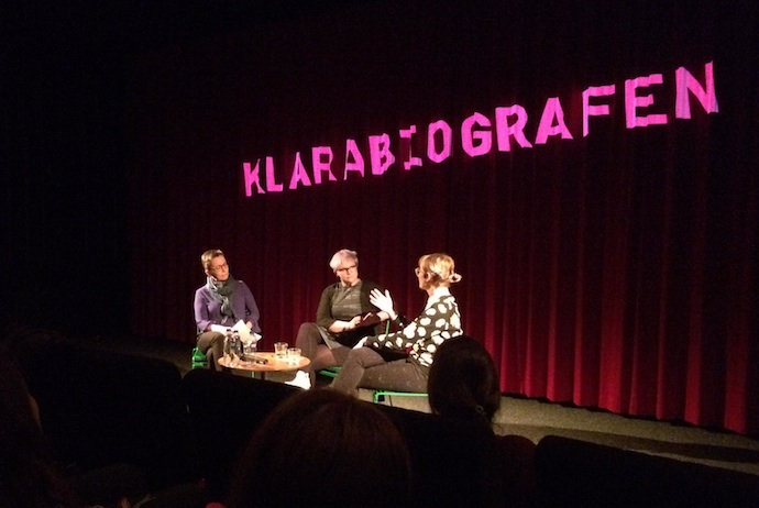 Klarabiografen in Stockholm hosts seminars and conferences with world-famous film directors.