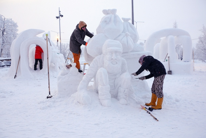 Kiruna Snow Festival celebrates snow with winter events and activities