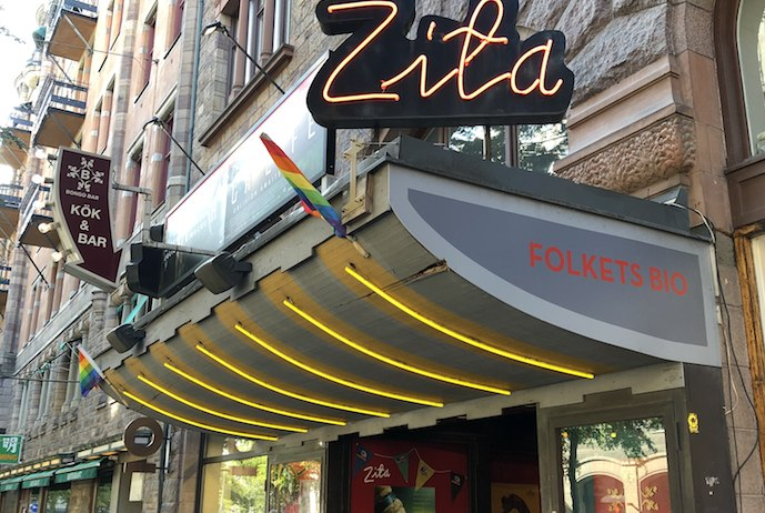 Zita Folkets Bio is one of Stockholm's oldest arthouse cinemas