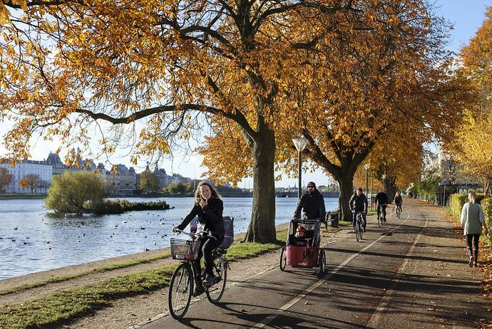 Cycling is the cheapest way to get around in Scandinavia