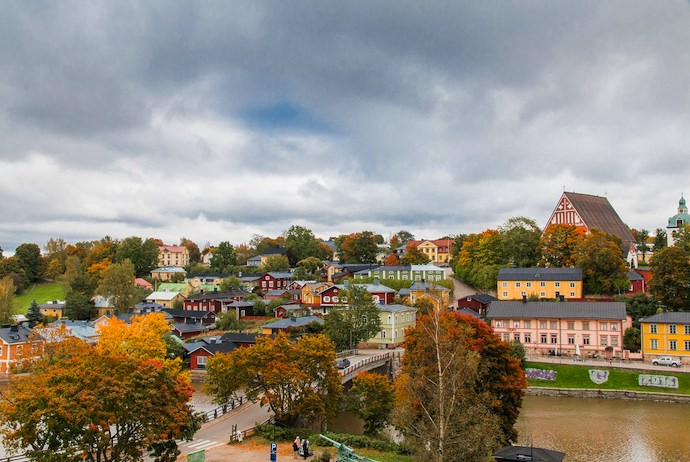 Porvoo in Finland is a fun place to explore