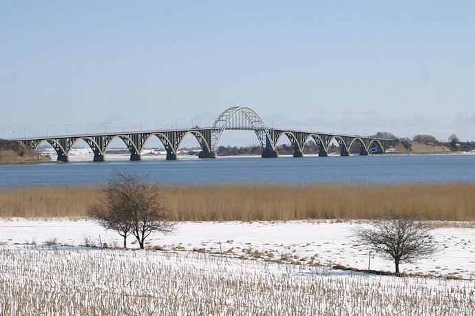Queen Alexandrine's Bridge is one of Denmark's most attractive bridges