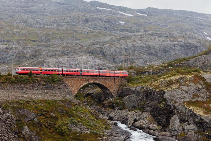 The picturesque Bergensbanen is an epic train ride in Norway.