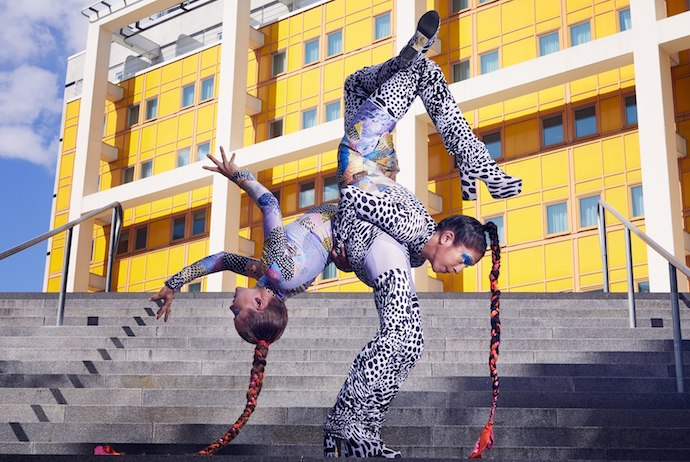 CirkusMania is Stockholms annual circus festival featuring acrobats and tumblers amongst others