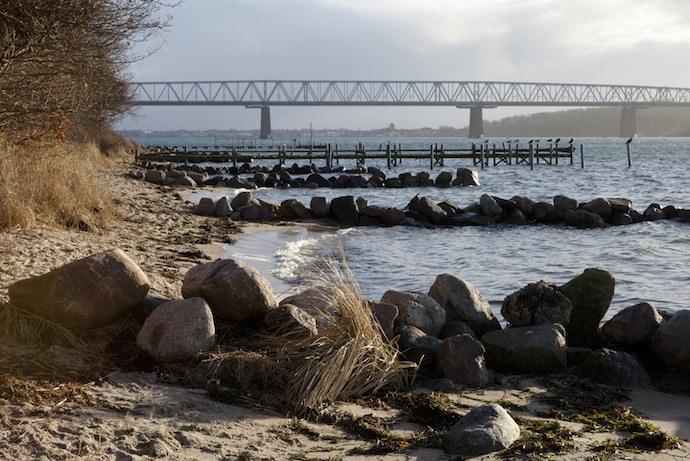 The old Little Belt Bridge is a great place for bridge walking
