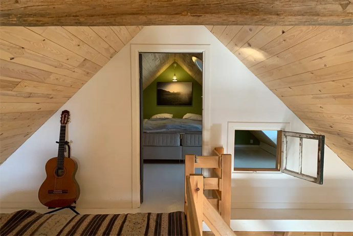 Try this unusual Danish Airbnb