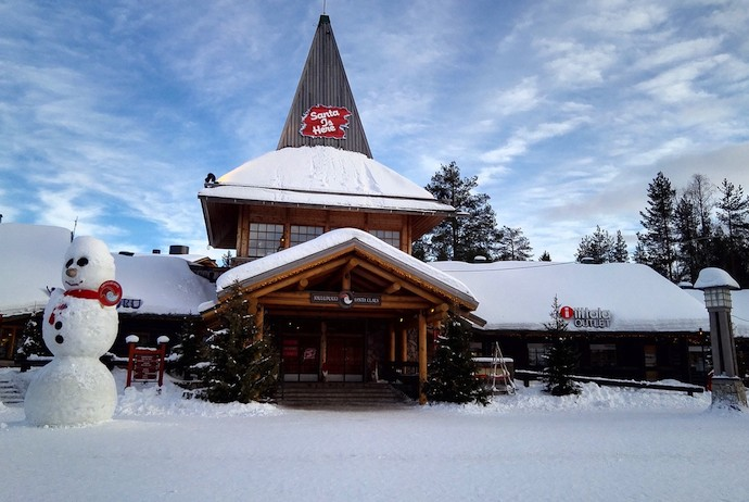Santa Claus village in Lapland is the ultimate Christmas destination
