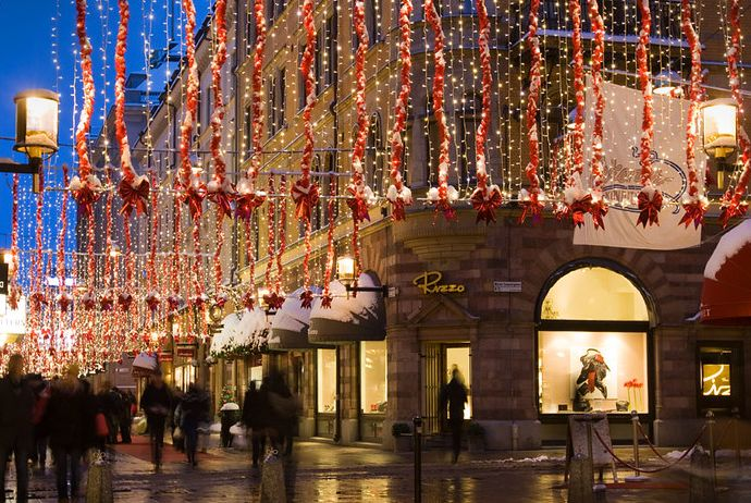 This festive lantern-lit tour is a great way to see the Christmas lights in Stockholm