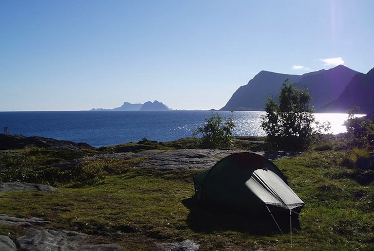 You can camp pretty much anywhere in Norway