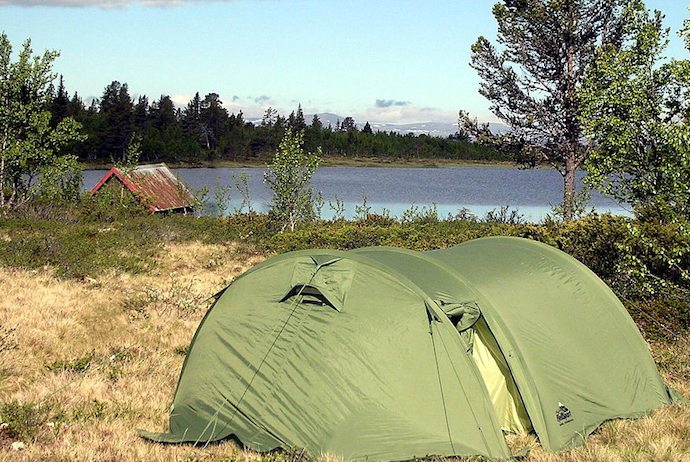 Camping keeps costs down on a budget trip to Scandinavia