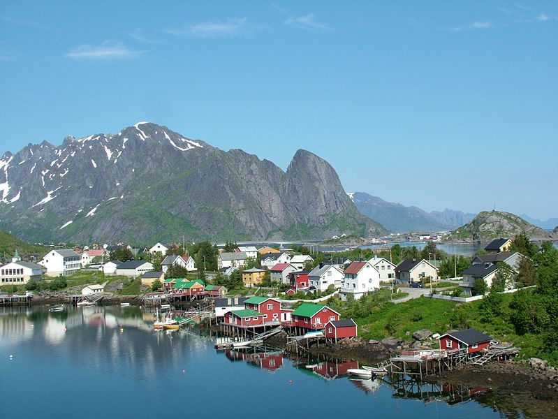 The Lofoten islands and Norway's northern fjords are best explored from Bodø