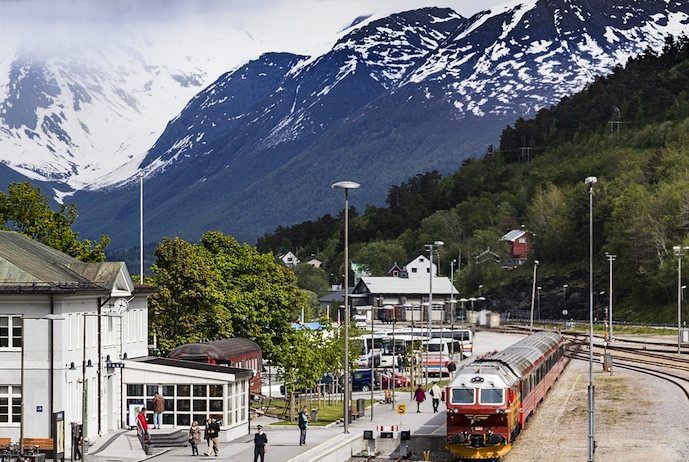Åndalsnes makes a great base for exploring Norway's fjordland