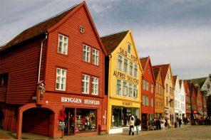 Bergen Shore Excursion (Bergen Walking Tour)