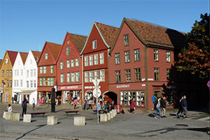 City Walking Tour in Bergen
