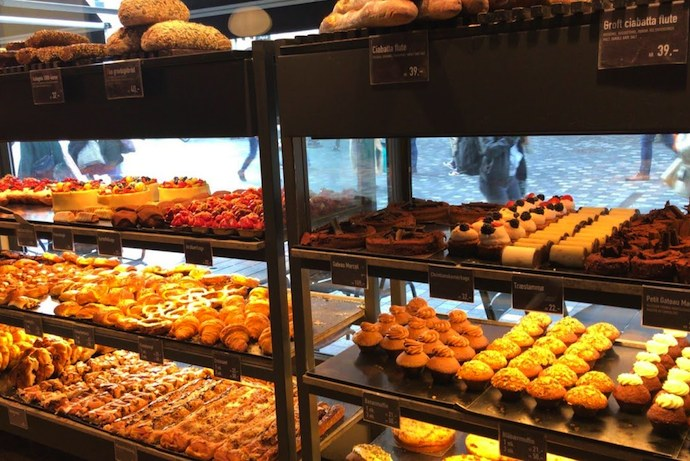 Local bakers are good for tasty filling cheap treats when visiting Scandinavia on a budget