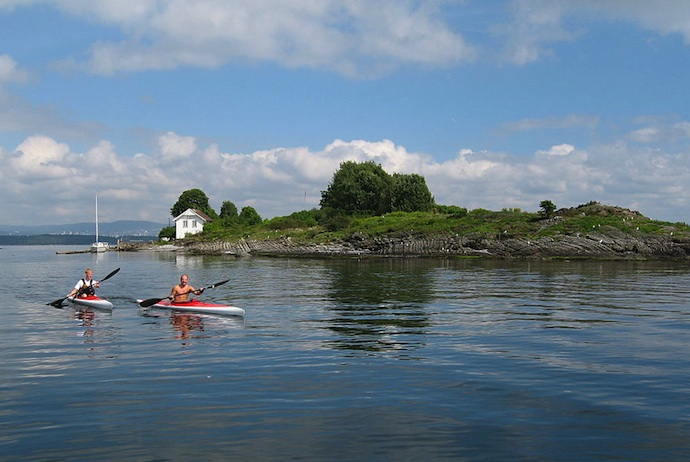 See the Oslofjord by kayak