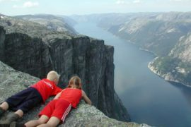 Lysefjord, one of Norway's most scenic fjords