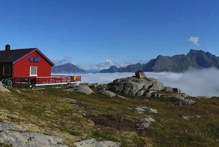 Staying in a mountain hut is an integral part of Norwegian life