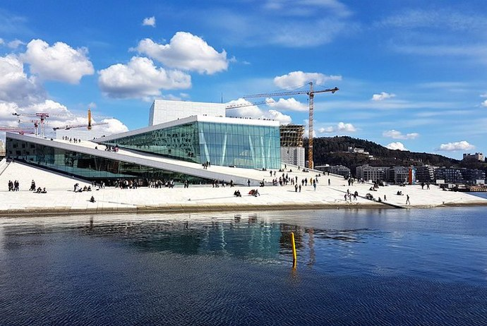 Oslo's waterfront is best seen on a boat tour