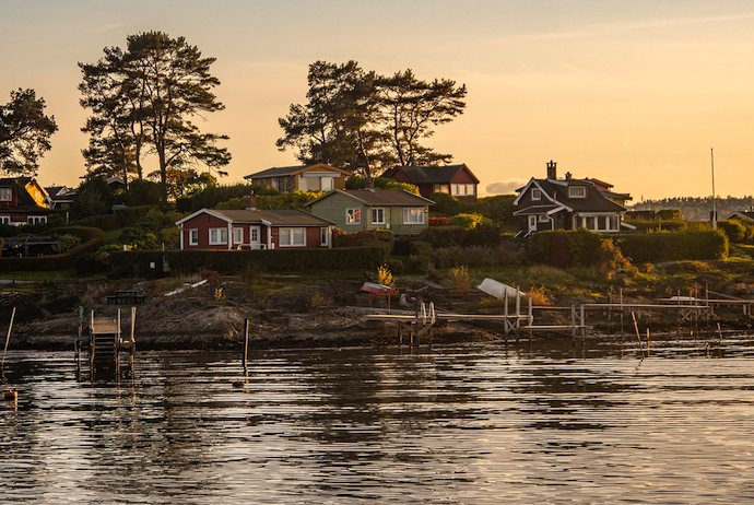 Summer houses in Oslofjord