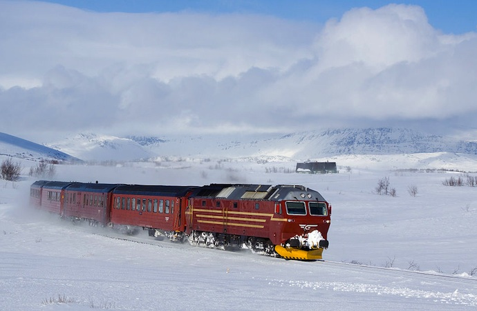 Look out for bragin train deals when visiting Scandinavia on budget