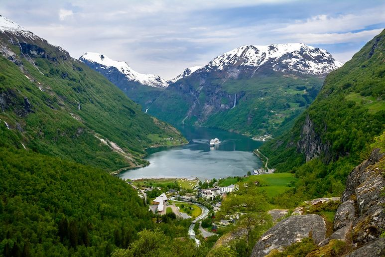 Geirangerfjord is worth visiting on your trip to Norway