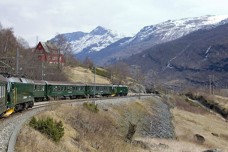 Myrdal is the start point for one of Norway's best train journeys