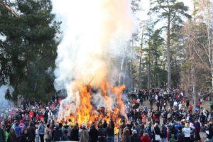 Easter bonfires at Seurasaari, Helsinki @ Helsinki | Helsinki | Finland