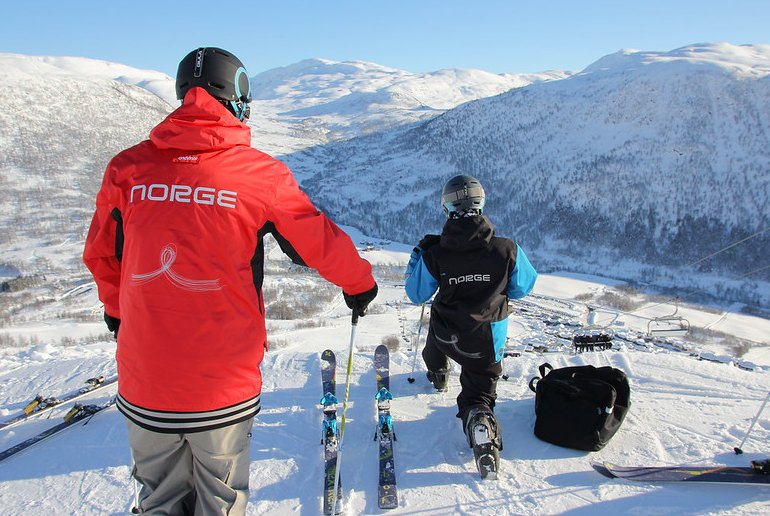 You can do all sorts of crazy extreme sports in Voss, Norway