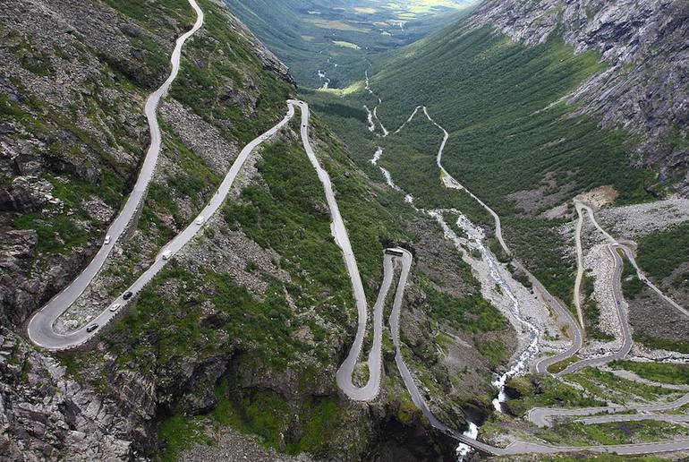 Trollstigen is one of Norway's most dramatic drives