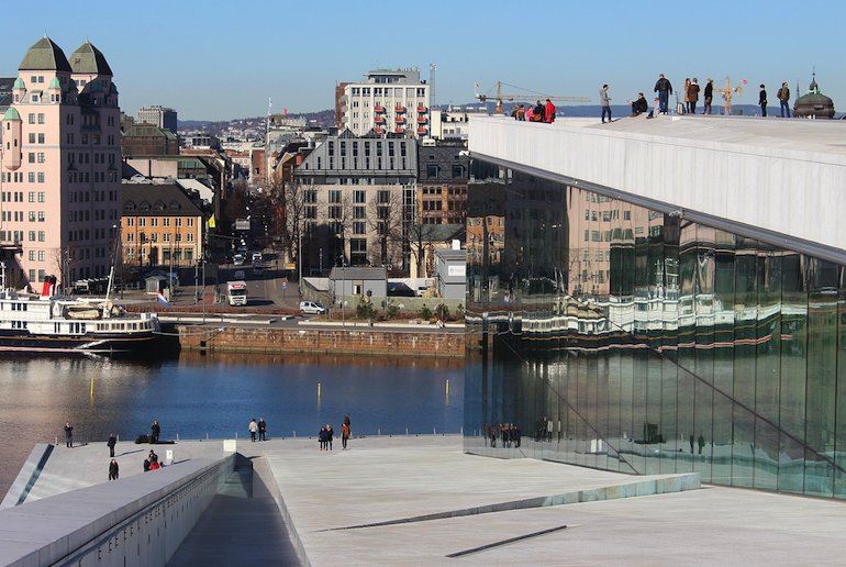 Oslo is one of the best places to visit in Norway for some big city sophistication